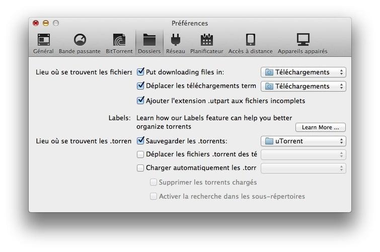 utorrent mac dossier