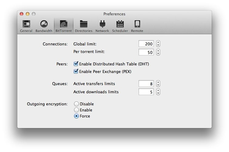utorrent mac encryption
