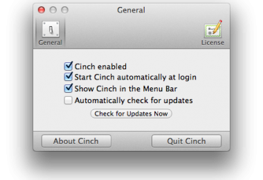 Cinch mac
