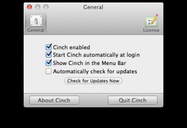 Cinch mac