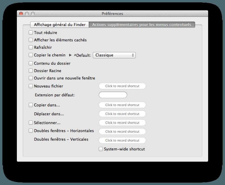 Xtrafinder ajouter des onglets au finder de mac os x for Reduire fenetre mac