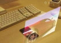 Clavier laser et images holographiques : Iphone 5 made in Fox 5 !