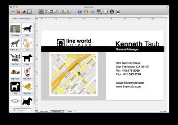 Business Card Composer 5 mac