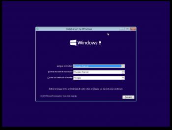 installer Windows 8 sur Mac l'installation classique