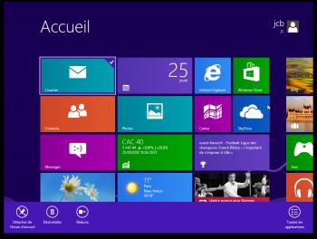 installer Windows 8 sur Mac bienvenue sous Windows 8