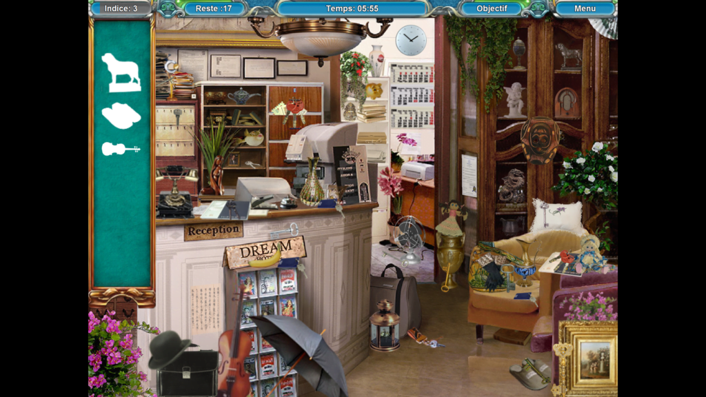 hidden objects games jeu objets caches windows