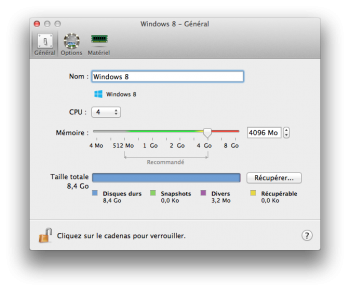 Parallels Desktop 10 options