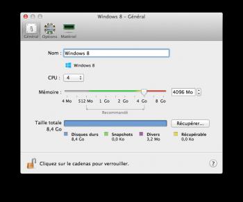 Parallels Desktop 10 options