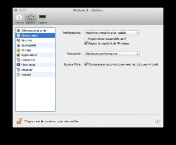 Parallels Desktop 10 optimisation