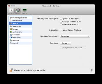 Parallels Desktop 10 securité