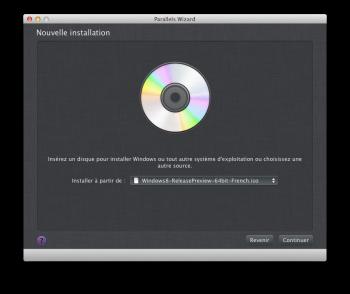 Parallels Desktop 10 installation
