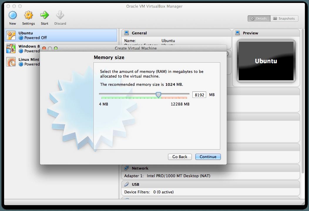 installa windows 8 su virtualbox extension