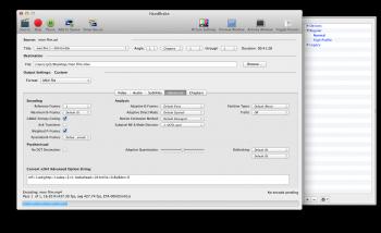 Handbrake encodeur video rapide