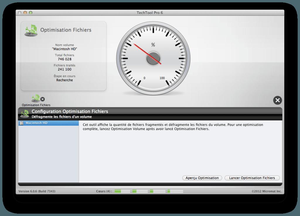 vérifier et réparer le disque de son mac Optimiser disque dur Mac