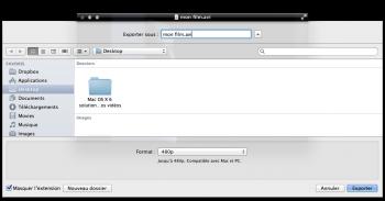 Quicktime exporter