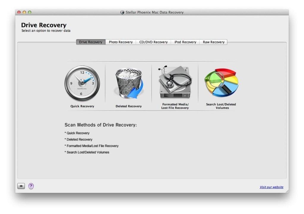 logiciel pour recuperer un fichier supprime Stellar Phoenix Data Recovery