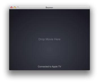Beamer - airplay apple tv3