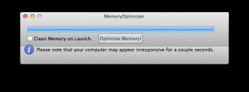 MemoryOptimizer optimiser ram