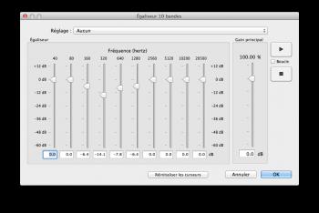egaliseur audio