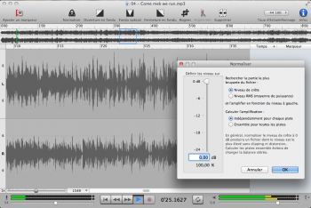 Sound Studio audacity