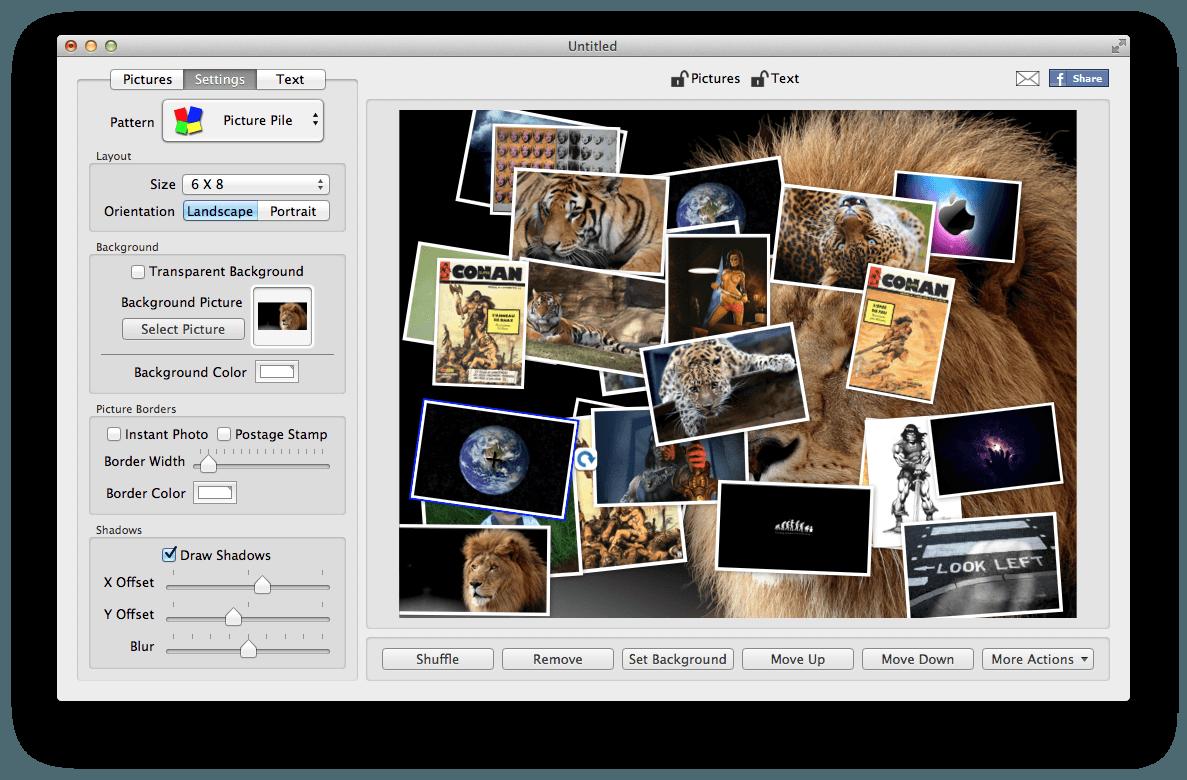 Favori TurboCollage : créer rapidement un pêle-mêle photo - JCBTechno LB25