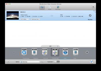 WonderShare Video Converter Ultimate conversion mp4