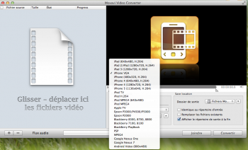 Movavi Video Converter convertir video pour iphone apple tv ipad