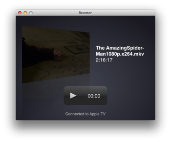 Beamer - apple tv streaming 1080p