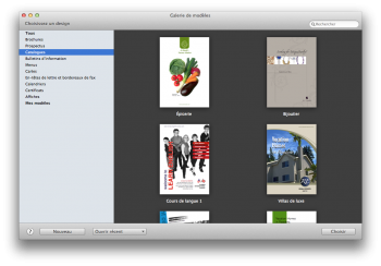 Swift Publisher - pao facile sur mac