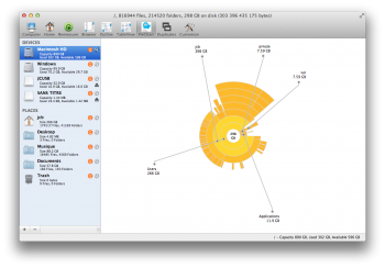 WhatSize trouver gros fichiers sur mac