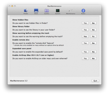 optimiser mac