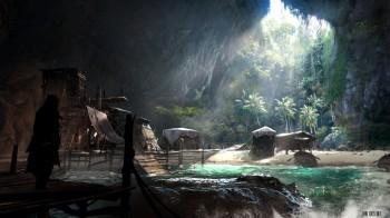 Black Flag grotte trésor