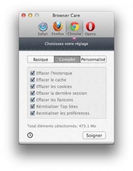 Browser care safari