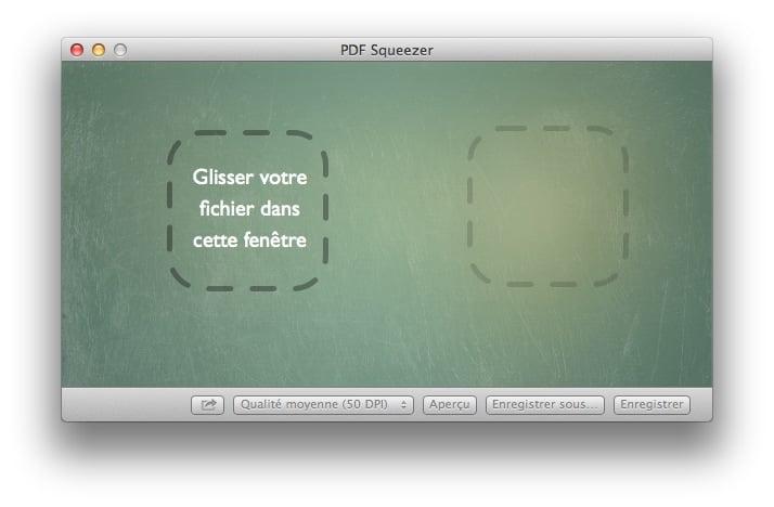 Pdf squeezer r duire rapidement la taille d 39 un pdf for Reduire fenetre mac