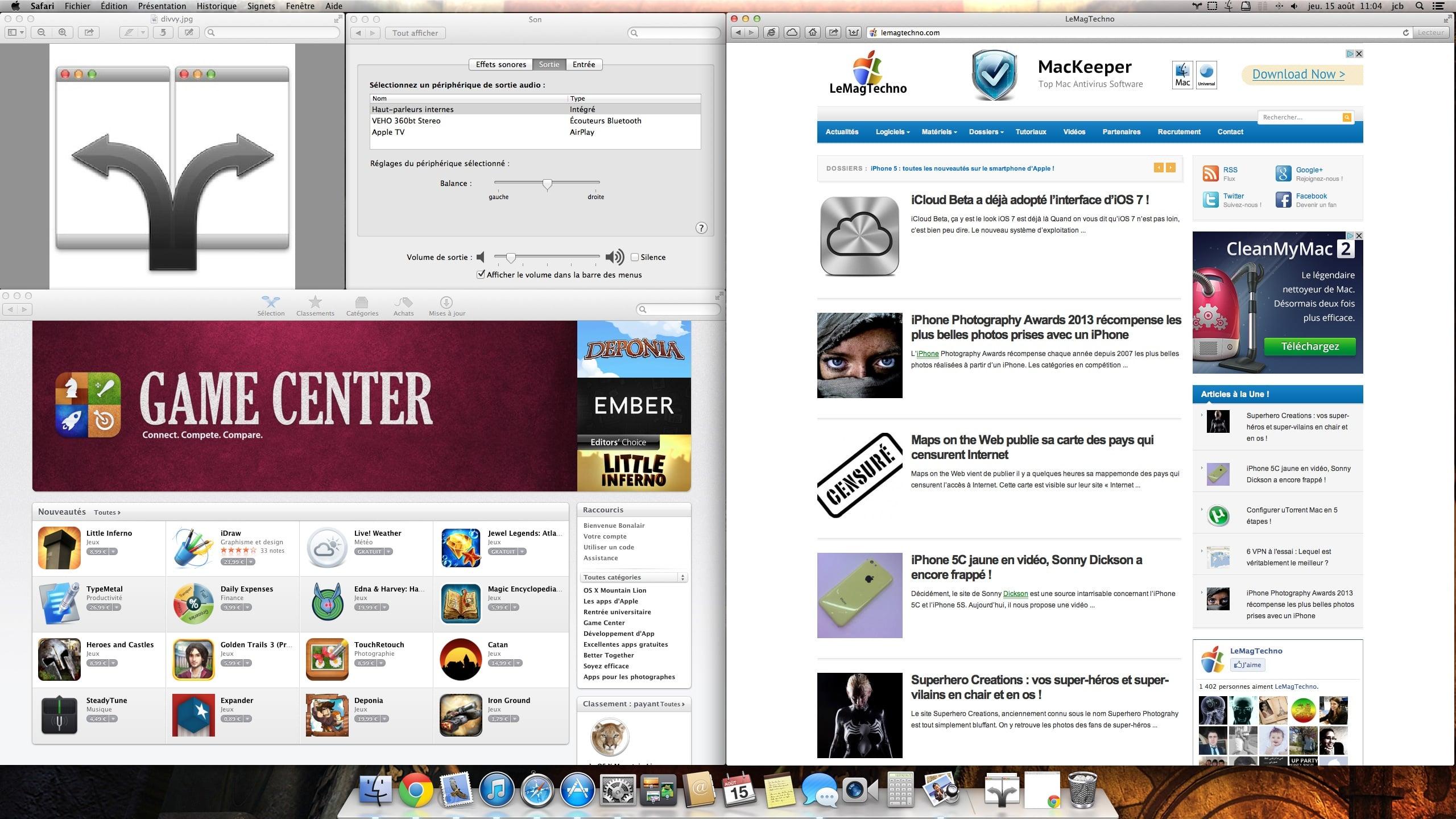 Divvy organiser facilement ses fen tres sous mac jcbtechno for Fenetre utilitaire mac