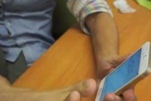 Verrouiller un iPhone 5S avec un sein