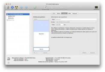 dual boot Mac OS X Mavericks et Linux
