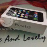 iPhone 5S coffret officiel photo