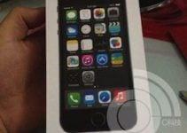 iPhone 5S coffret officiel : le lecteur d'empreinte digitale est confirmé !