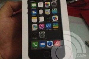 iPhone 5S coffret officiel image