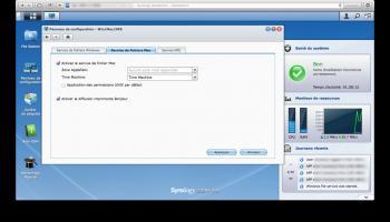Mac os x sauvegarde sur serveur NAS DS213+