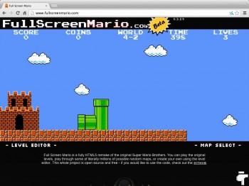 Super Mario chrome