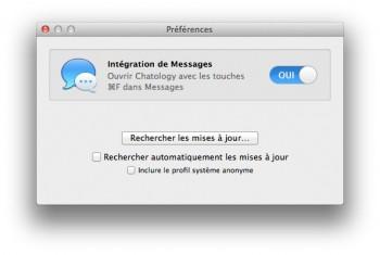 chatology pour mac