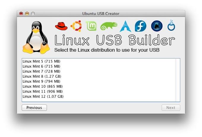 creer une cle USB bootable Linux sur mac 02