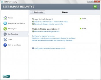 eset smart security 7 parefeu activation