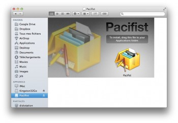 installer pacifist mavericks