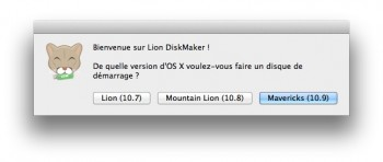 lion diskmaker mavericks tuto