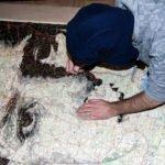 Ed Fairburn portrait sur carte topographique2