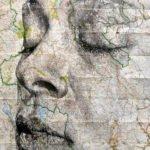 Ed Fairburn portrait sur carte topographique6