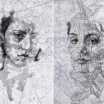 Ed Fairburn portrait sur carte topographique8